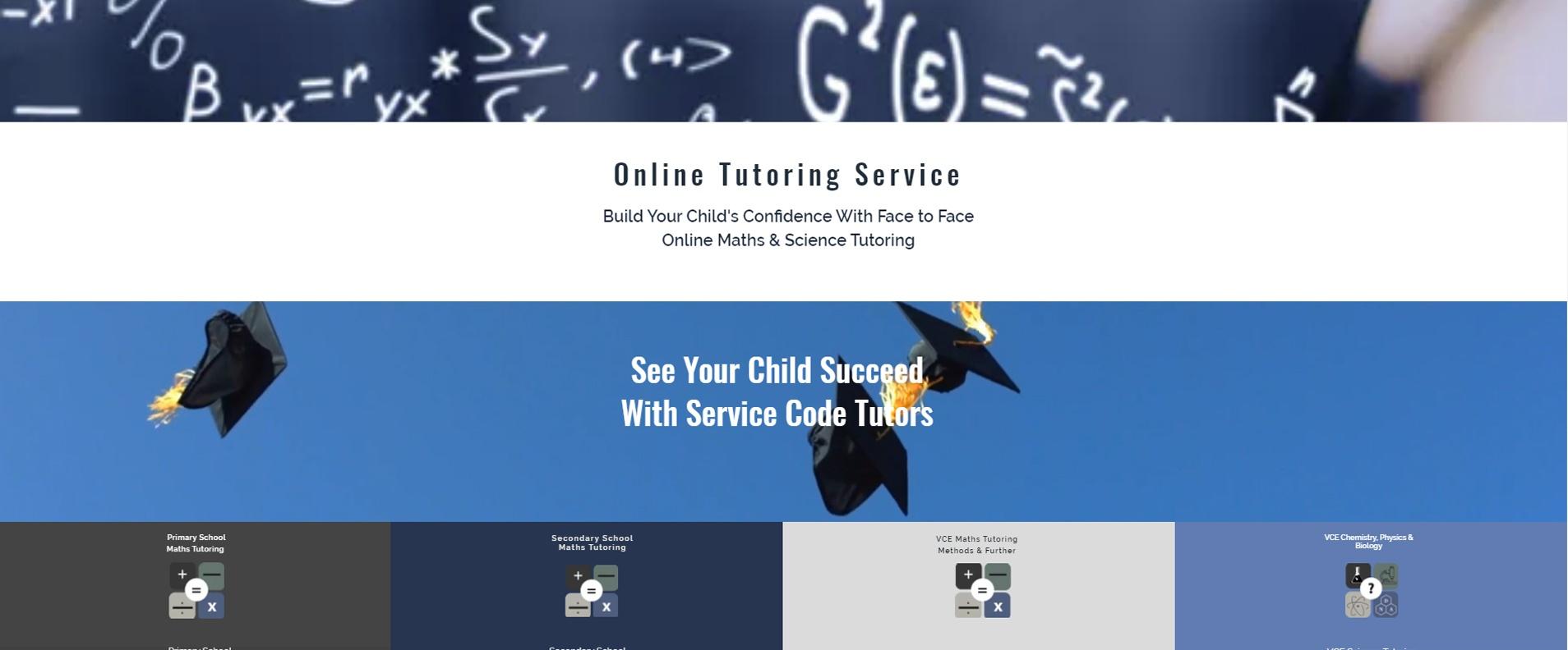 Service code tutors